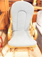 Glider with Footstool,
