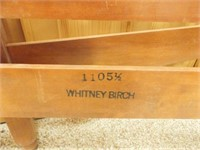 Twin Size Whitney Birch Bed Frame