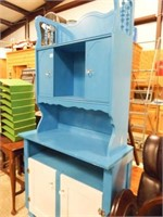 """Hutch Cabinet, Painted, 77"""" x 37"""" x 16"""""""