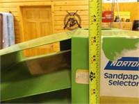 Sandpaper Selector Organizer, Metal