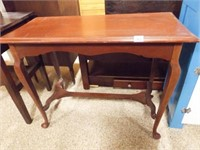 """Wood Occasional Table, 18"""""""