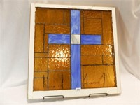 """Stained Glass, Window Frame, 27"""""""