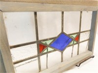 """Stained Glass, Framed, 19½"""" x 13"""""""