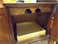 Cabinet on Wheels, possibly Beverage Server