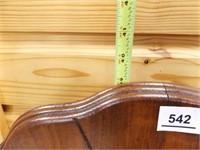 """Wood High Chair, 39"""" x 15"""" x 16"""""""