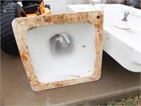 4/5/1927 Vintage Pedestal Sink