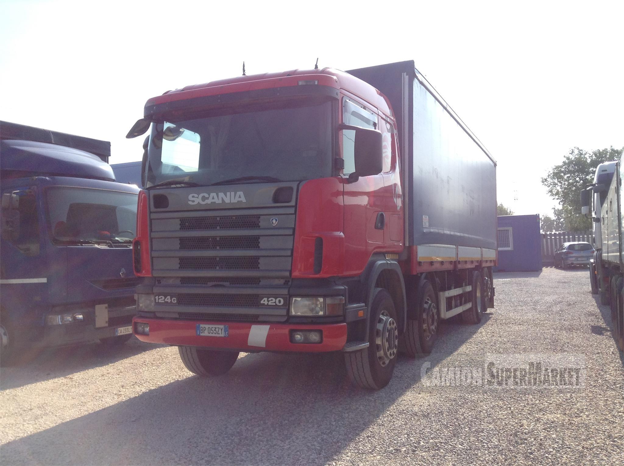 Scania R124G420