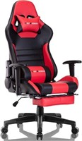 Gaming Chair Gaming Chaise with Footrest Ergonomic