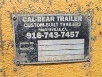 (DMV) 1993 Timber 8' x 21' Flat Trailer