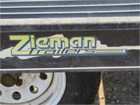 (DMV) 2005 Zieman 8.5' x 11' Snowmobile Trailer