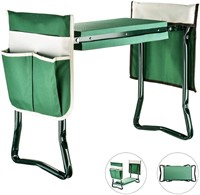 Garden Kneeler And Seat With Tool Pouches