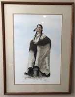 62 - SIGNED BY EARL J. CACHO & NUMBERED FRAMED