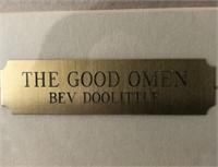 62 - THE GOOD OMEN BY BEV DOOLITTLE FRAMED PRINT
