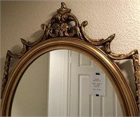 62 - NICE GOLD FRAMED MIRROR