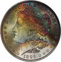 $1 1896 PCGS MS68 CAC