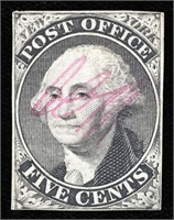 SALE ONE - US CLASSIC STAMPS, POSTAL HISTORY AND AUTOGRAPHS