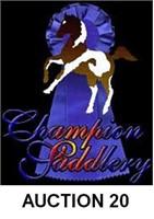 CHAMPION SADDLERY'S ONLINE SADDLE AND TACK AUCTION #20
