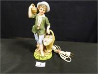 Lenwile China Figurine; Lighted