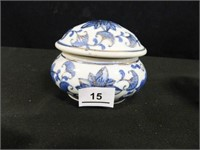 Round Container; Container w/lid