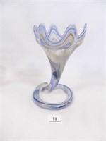 Vase; Hand Blown Glass