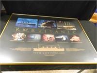Titanic 75th Ann. Framed Print