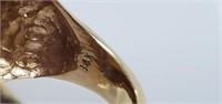 1908 Ind Head Gold $2.50 Quarter Eagle Diamond Rin