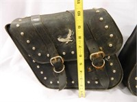 Willie & Mike Slant Saddle Bags
