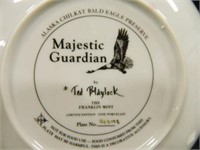 Eagle Collector's Plates; (5)