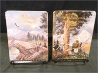 Eagle Collection; 2-Wall hangings