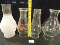 Glass Chimneys for Kerosene Lamps