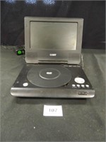 Coby DVD Video Player; Powers Up