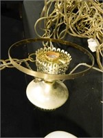 Hanging Lamp w/Shade; Vintage