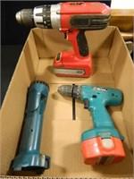 Drill w/Lithium Battery; Makita Drill