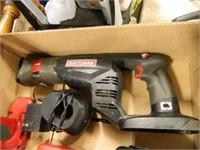 Craftsman Reciprocating Saw; Drill