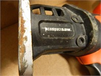 Black & Decker Drills-(2); Light; Case