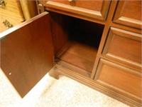 Wooden Buffet; Silverware Drawer