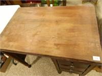 "Wooden Desk; 24"" x 36"" x 30"" h."