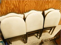 Wooden Folding Chairs; (3)