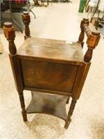 Vintage Cabinet w/Spindle Legs