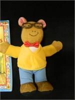 Arthur's Teacher Trouble; 2-Plush
