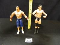 John Cena; Wade Barrett; WWE