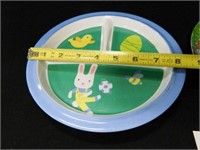 Children's Plates; Ronald McDonald
