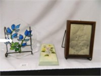 Wall Hangings; (3); Stain Glass Look