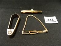 Swank Brand Tie Clips-(2)