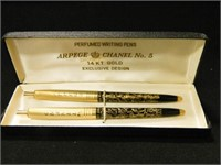 Arpege & Chanel No. 5 Writing Pens