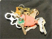 Key Assortment; (8) Bags