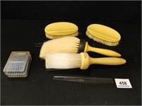 Vintage Brush Set; (4); Comb