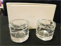 Kate Spade Crystal Candle Holders