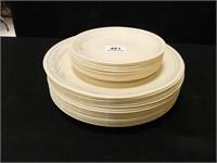 Correll Plates; Dinner Plates (18)