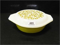 Pyrex Covered Baking Dish; 1½ qt.